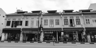 Ancient houses in Georgetown, Malaysia Stock Image