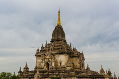 Ancient Htilo Minlo Pagoda, BaganPagan Royalty Free Stock Photo