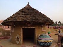 Ancient hut Stock Photo