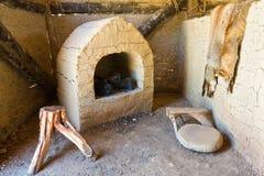 Ancient Hut Interior royalty free stock photos