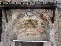 Ancient Icon, Rome, Italy Royalty Free Stock Photography