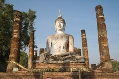Ancient image  buddha  statue Royalty Free Stock Photography