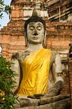 Ancient image buddha statue Royalty Free Stock Image