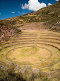 Ancient Inca circular terraces Royalty Free Stock Image