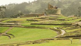 Ancient Inca Civilization Settlement
