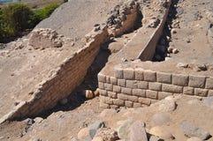 Ancient Inca ruins Royalty Free Stock Photography