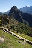 Ancient Inca ruins of Machupicchu Royalty Free Stock Photo