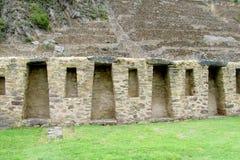 Ancient inca ruins of Sacsayhuaman near Cusco, Peru Royalty Free Stock Photos