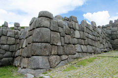 Ancient inca ruins Royalty Free Stock Photo