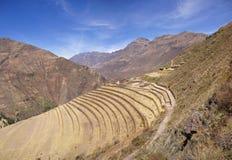 Free Ancient Inca Terraced Stonework Royalty Free Stock Image - 6571786