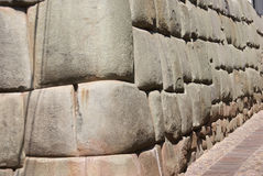 Ancient Inca walls Royalty Free Stock Photo