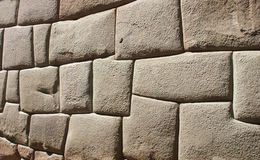 Ancient Inca walls Royalty Free Stock Photography