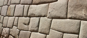Ancient Inca walls Stock Photos