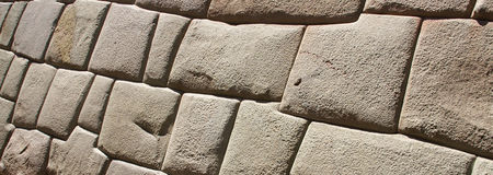 Ancient Inca walls Stock Image