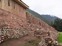 Ancient inca walls in Cusco Stock Image