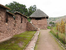 Ancient inca walls in Cusco Royalty Free Stock Images
