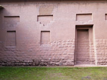 Ancient inca walls in Cusco Royalty Free Stock Photo
