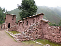 Ancient inca walls in Cusco Royalty Free Stock Photography