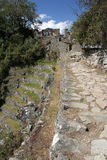 Ancient Incan city of Machu Picchu, Peru Royalty Free Stock Photography