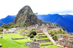 Ancient Incan city of Machu Picchu, Peru Stock Photography