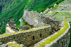 Ancient incas town of Machu Picchu. Peru Stock Photo