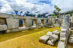 Ancient incas town of Machu Picchu. Peru Stock Photos