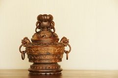 Ancient  incense burner Royalty Free Stock Photos