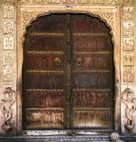 Ancient India doors Royalty Free Stock Image