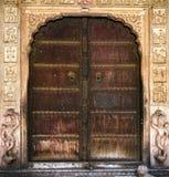 Ancient India doors Royalty Free Stock Image