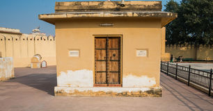 Ancient Indian Door Stock Image