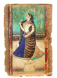 Ancient Indian picture Royalty Free Stock Photography