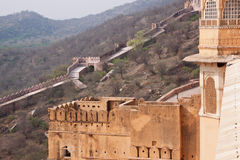 Ancient Indian Ramparts Royalty Free Stock Photo