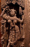 Ancient Indian sculpture Stock Images