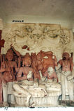 Ancient Indian sculptures Royalty Free Stock Image