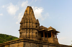 Ancient indian temple  in Rajasthan Royalty Free Stock Photos