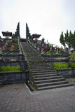 Ancient indonisia temple steps Royalty Free Stock Photography