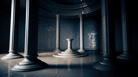 Ancient interior Stock Image