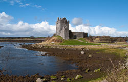 Ancient irish castle, west coast of ireland Royalty Free Stock Photo