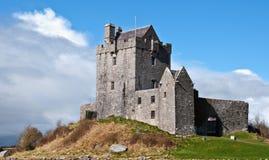 Ancient irish castle, west coast of ireland Royalty Free Stock Image