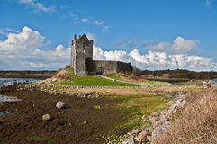 Ancient irish castle in the west of ireland Stock Images