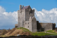 Ancient irish castle in the west of ireland Royalty Free Stock Photography