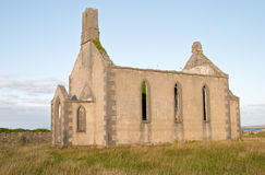 Ancient Irish church Royalty Free Stock Images
