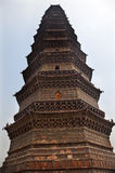 Ancient Iron Buddhist Pagoda Kaifeng China Stock Photo