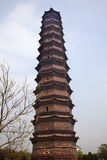 Ancient Iron Buddhist Pagoda Kaifeng China Royalty Free Stock Images