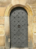 Ancient Iron Door Stock Photo
