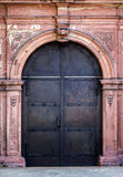 Ancient Iron Door Stock Photography