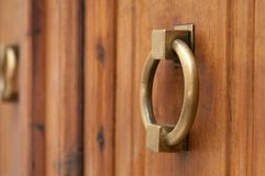 Old door knocker Royalty Free Stock Photo