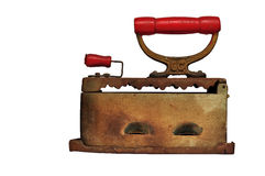 Ancient irons Stock Image
