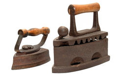 Ancient irons Royalty Free Stock Photography