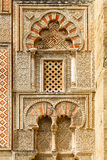 Ancient islamic building decoration with window Royalty Free Stock Photos